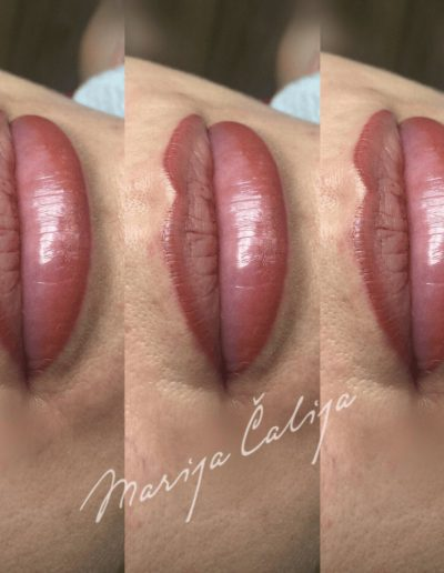 Permanent makeup Lips 6
